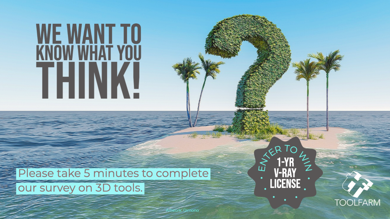 Help Us Out! Take our 5 Minute 3D Renderers Poll