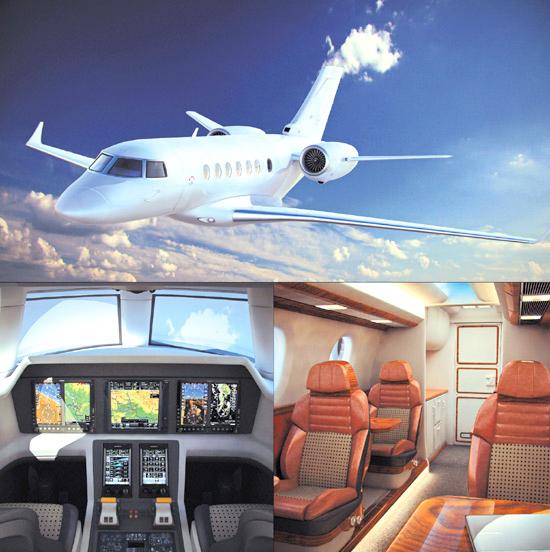 dosch business jet details