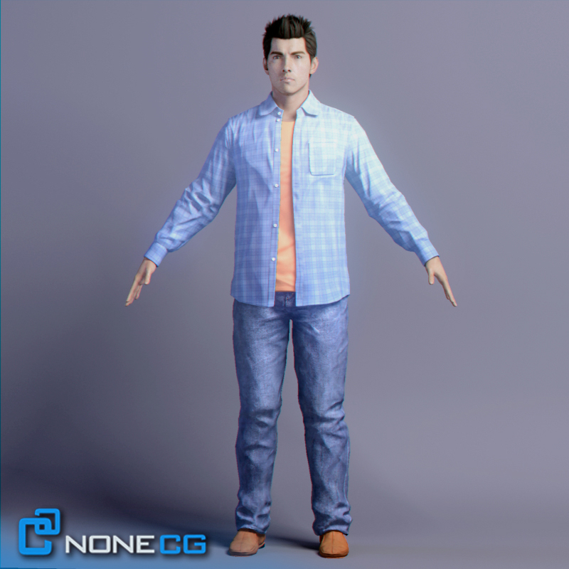 nonecg tom clothing rigged