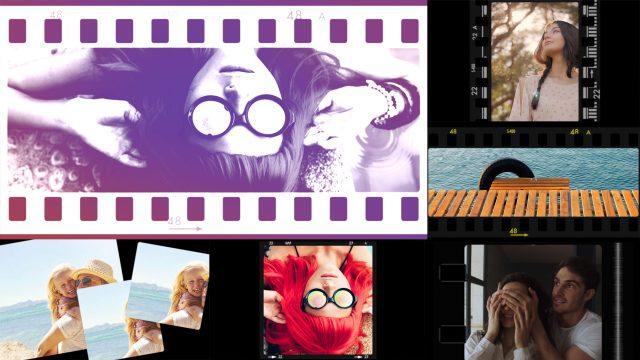 Cineflare Film Strip
