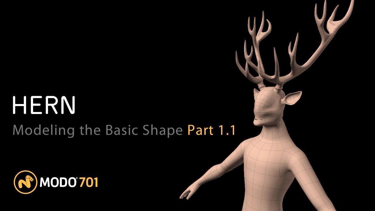 mythical creature modo tutorial
