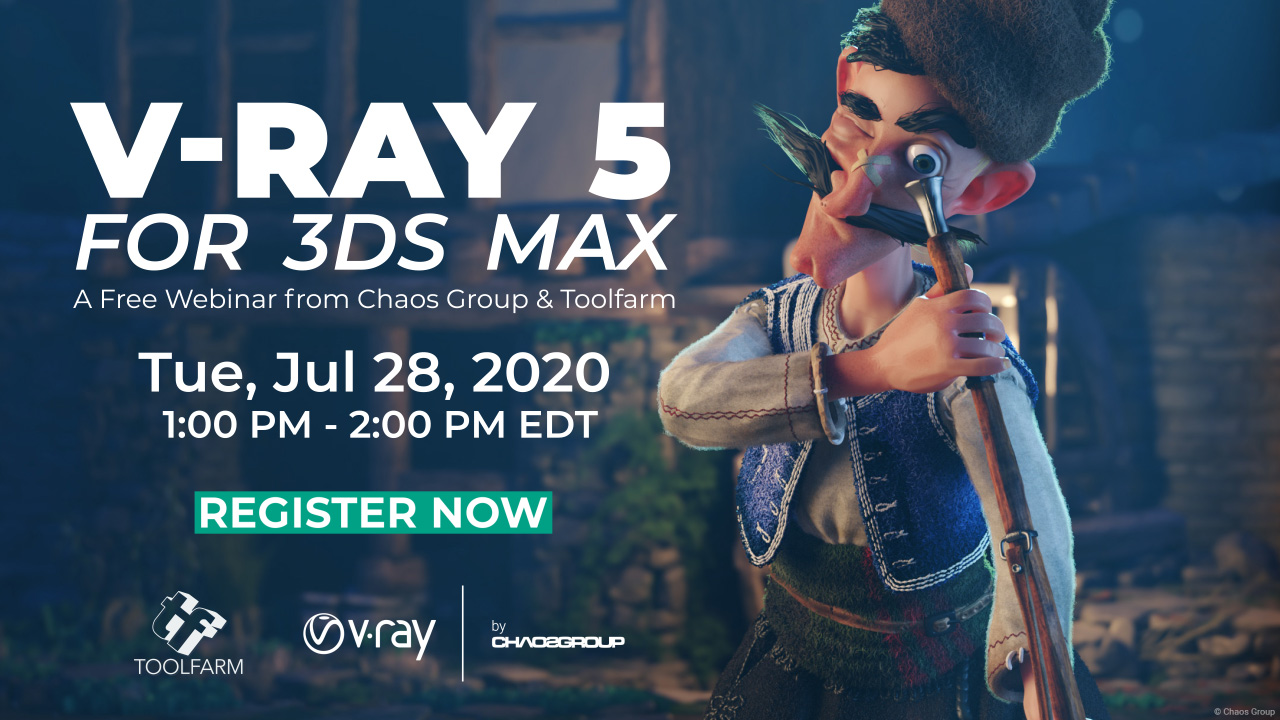 v-ray 3ds TF webinar