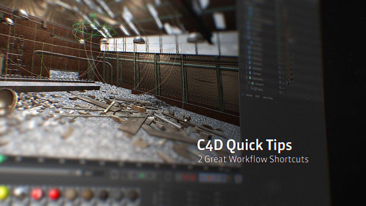 C4D Workflow