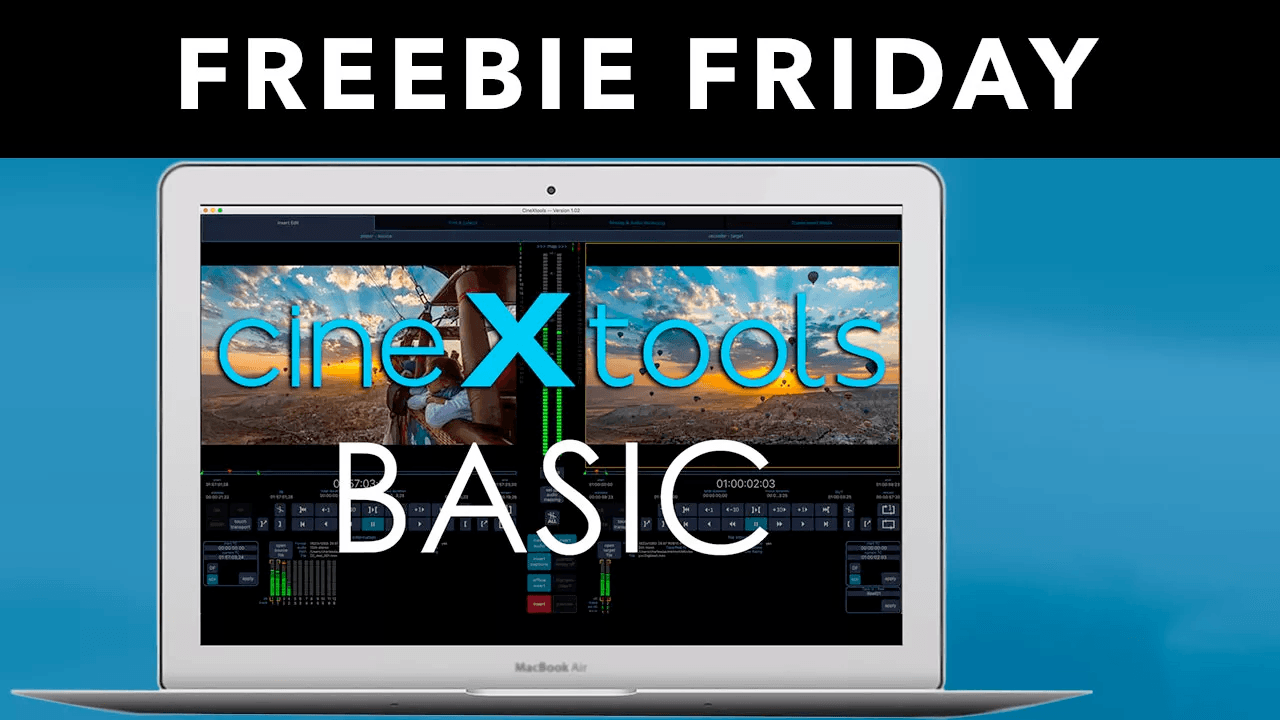 Freebie: cineXtools BASIC for Avid Media Composer and Adobe Premiere and ProRes Workflow Plugins