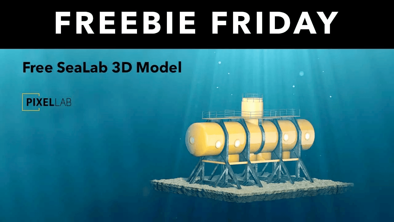 Freebie Friday: SeaLab 3D Model from The Pixel Lab