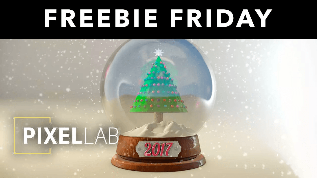 Freebie Friday: Snow Globe 3D Model from The Pixel Lab