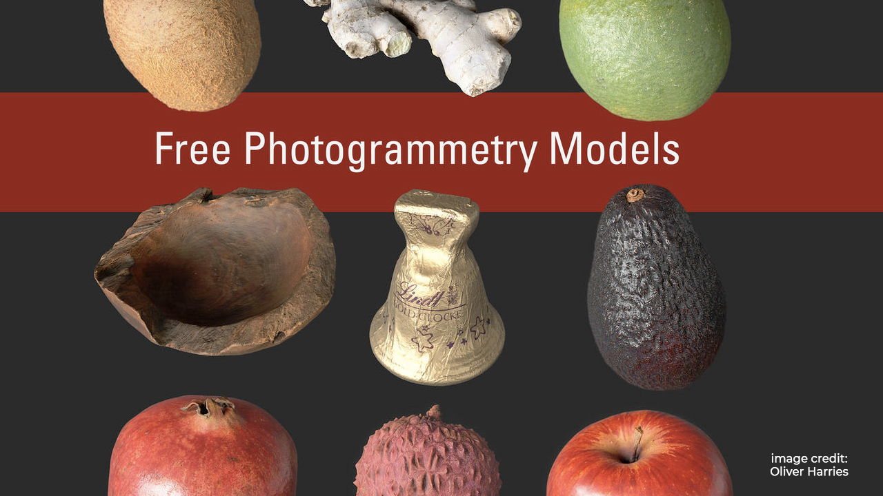 free photogrammetry models
