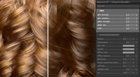 vray 3ds max glint hair
