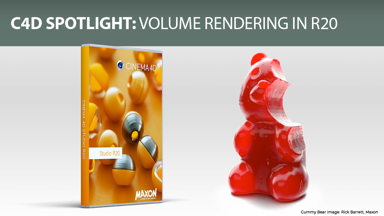 C4D Spotlight: OpenVDB Volume Modeling in Cinema 4D R20, with Tutorial Roundup