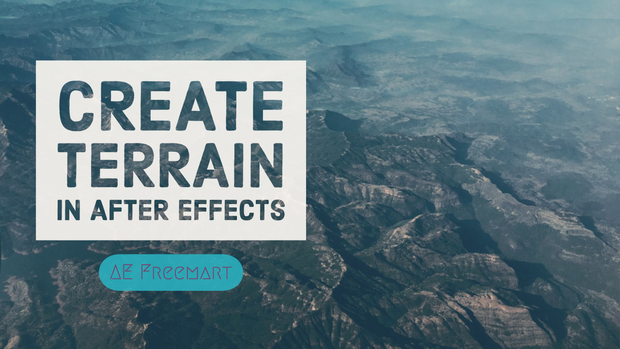 Create Terrain in After Effects + Andrew Kramer at NAB 2018 Landscapes