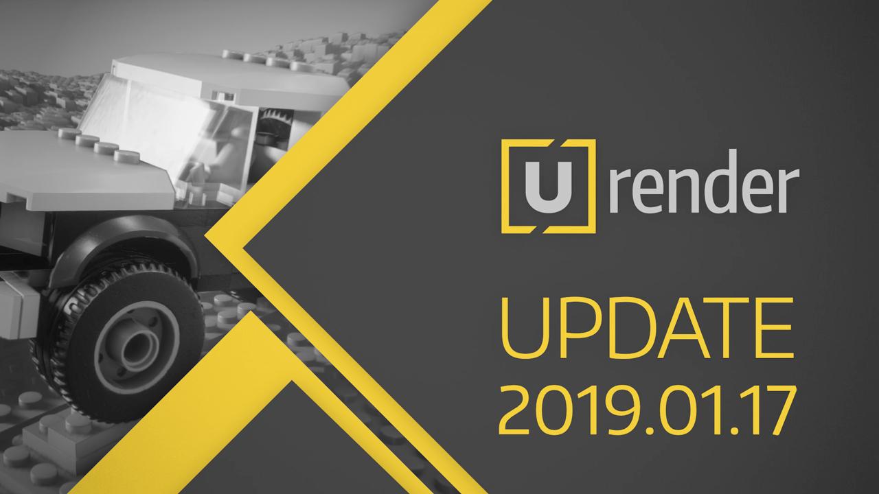 U-RENDER 2019.01.17