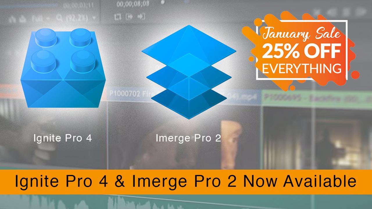 fxhome ignite pro & imerge pro