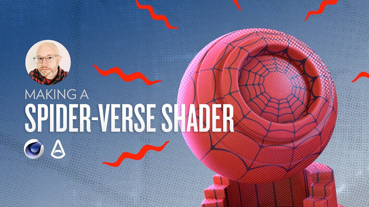 spider-verse shader in arnold tut