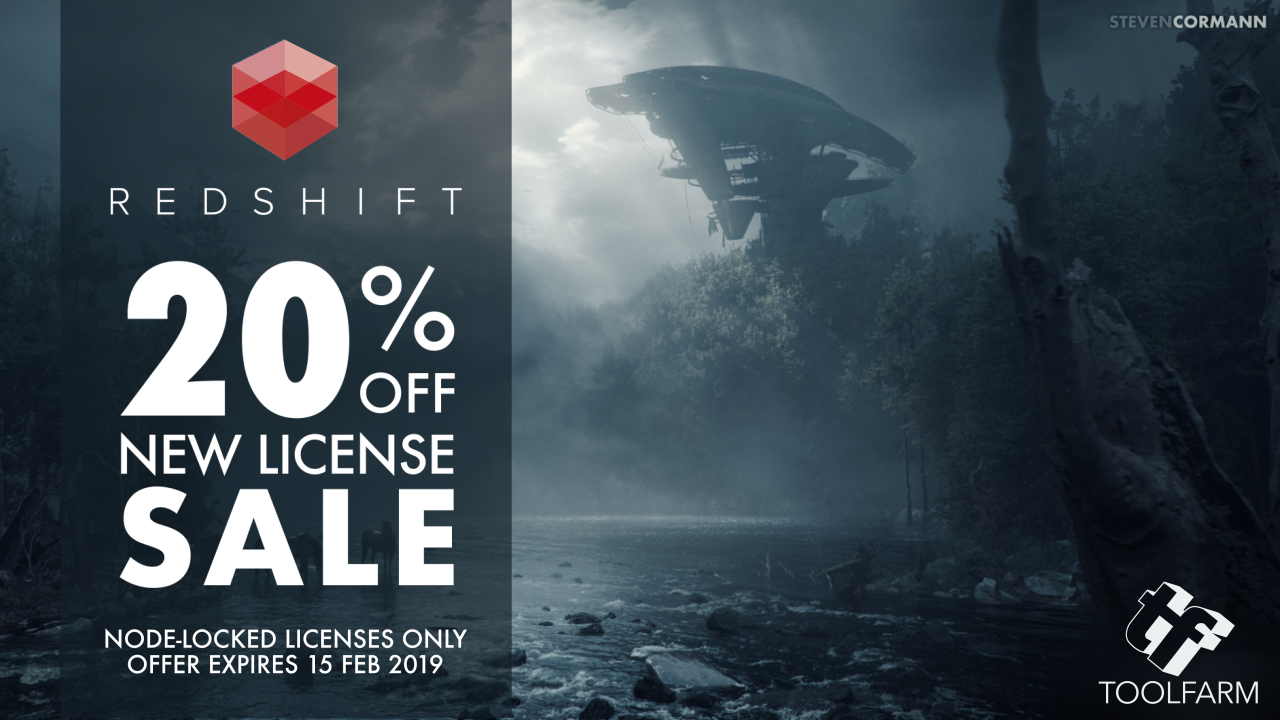 redshift 20% off sale