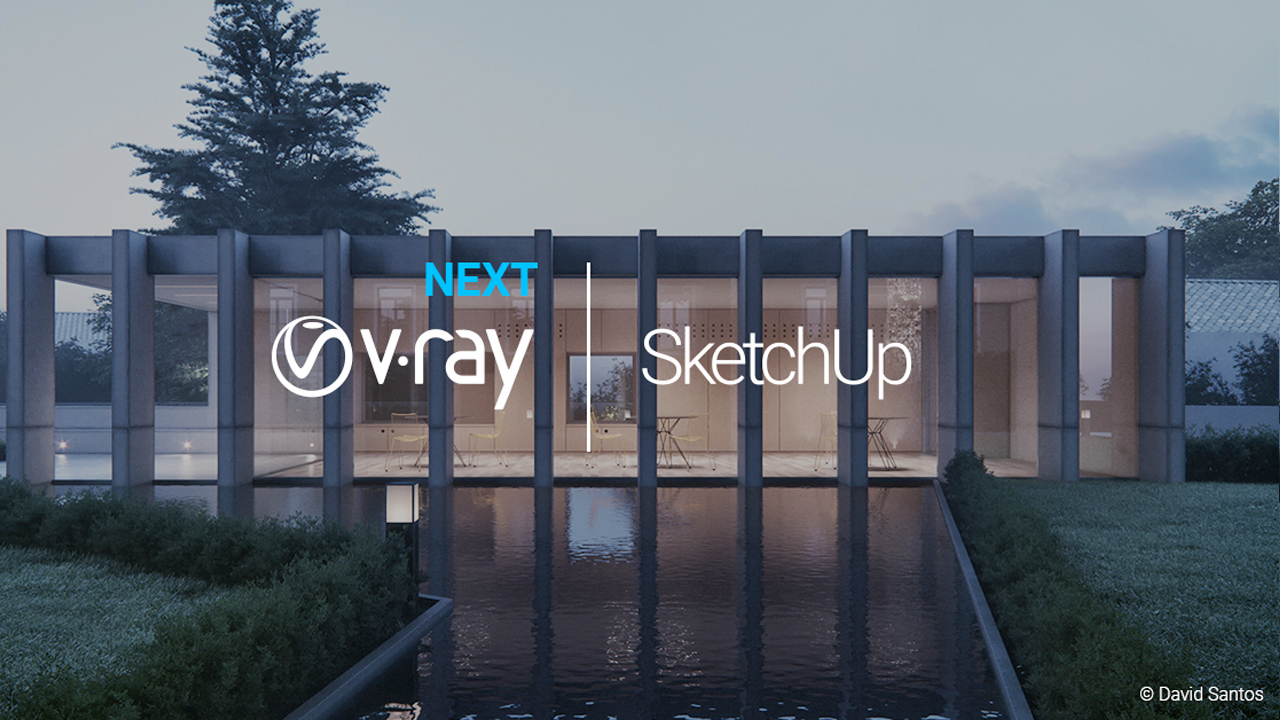 v-ray next for sketchup webinar