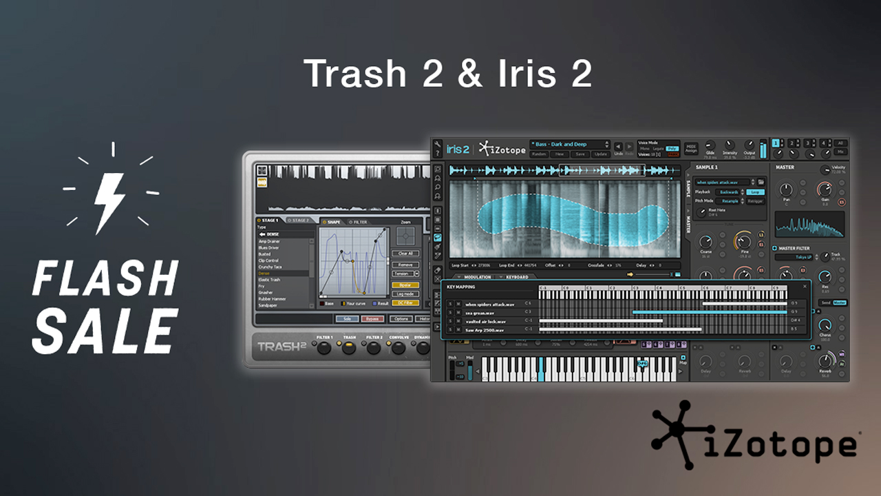 izotope trash & iris flash sale