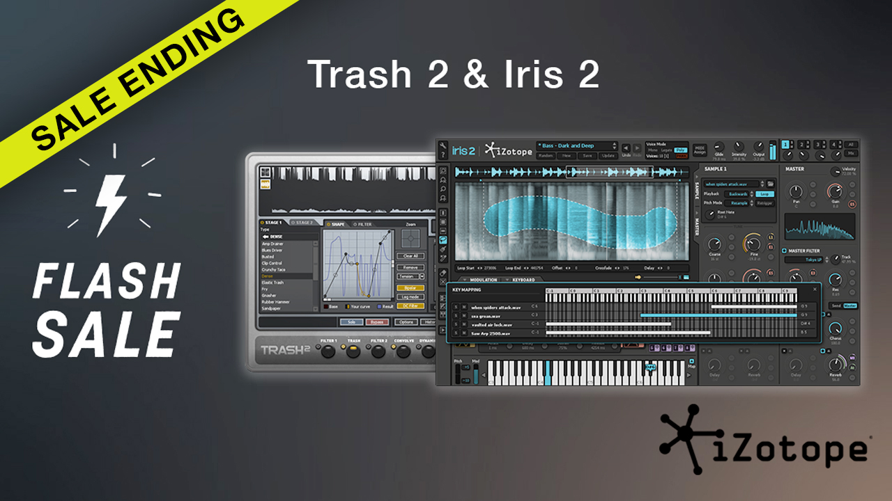 izotope trash & iris flash sale ending
