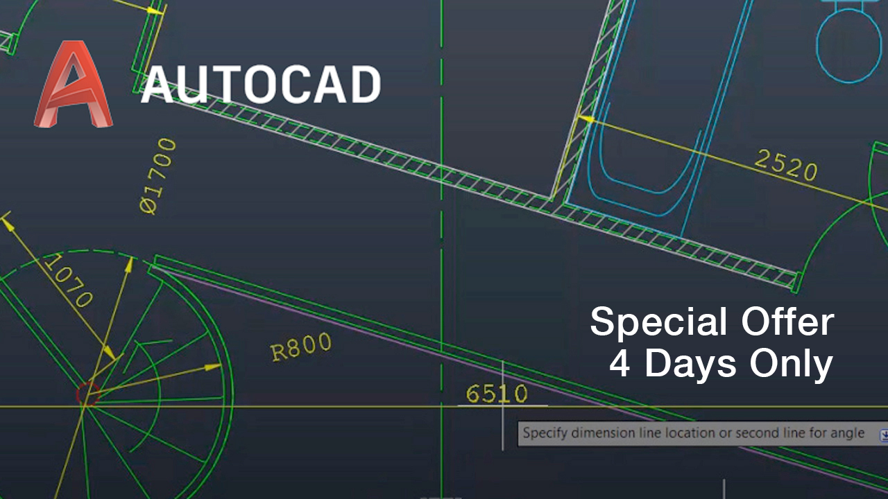 autodesk autocad 4 day sale