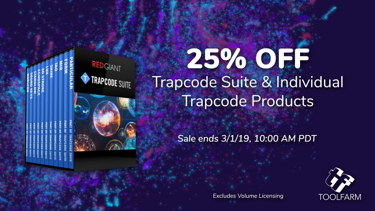 red giant trapcode 48 hour sale