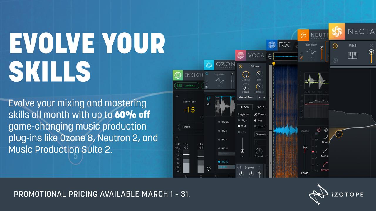izotope mix and master promo