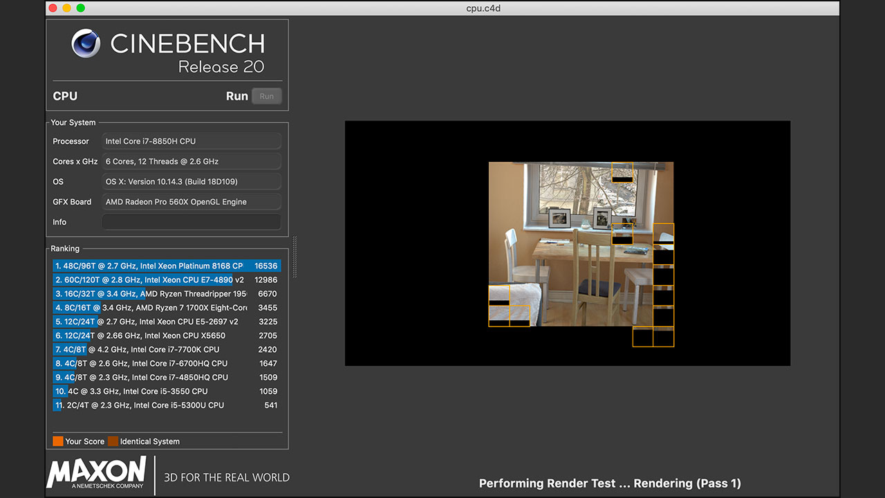 Cinebench Cinema 4D