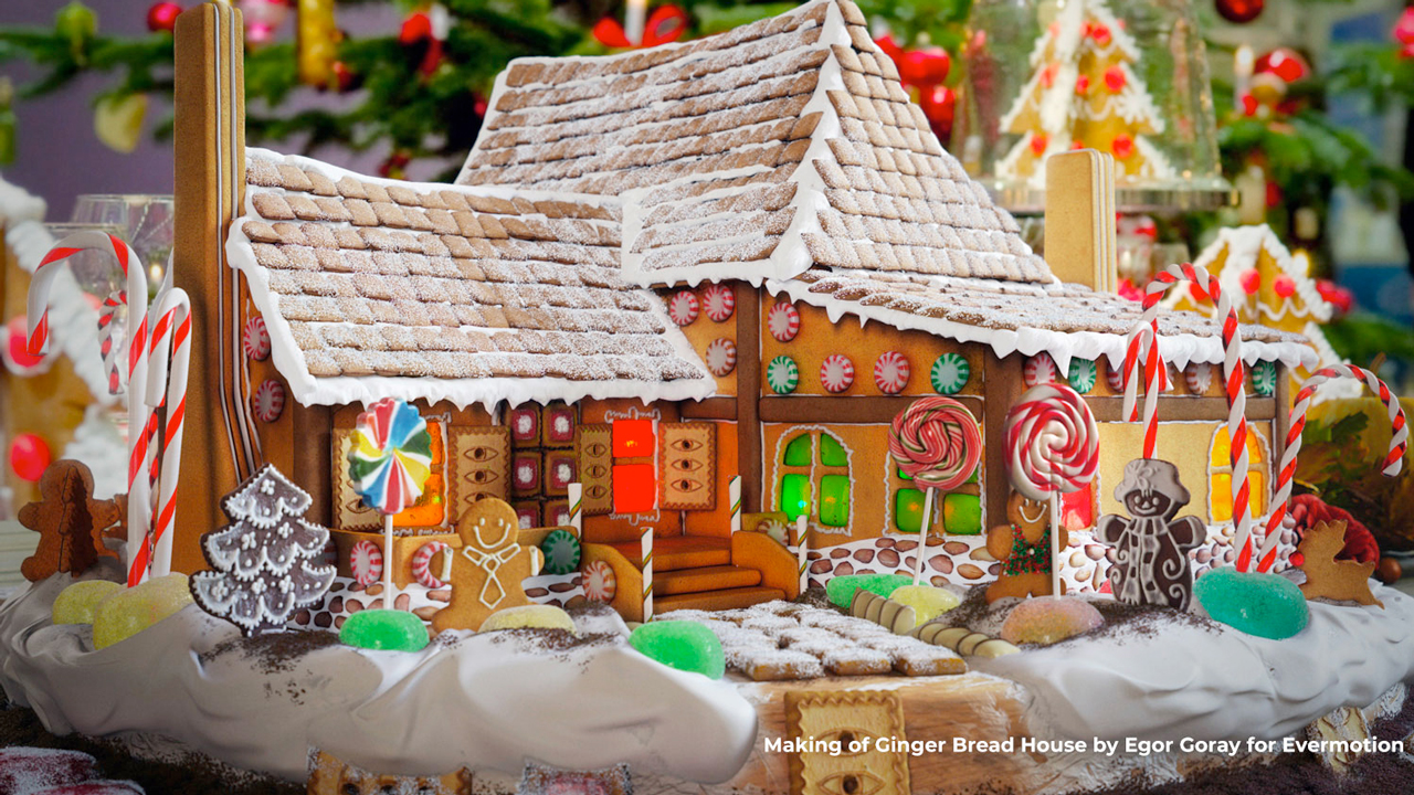 gingerbread house tut freebie