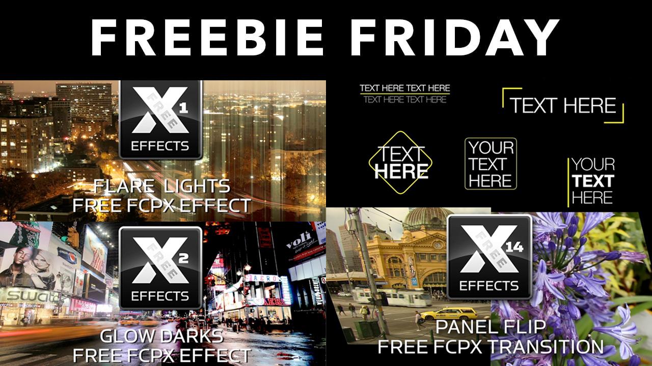 Freebie: idustrial Revolution Free XEffects for FCPX - Toolfarm
