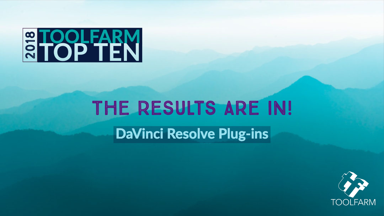 Toolfarm Top 10 DaVinci Resolve