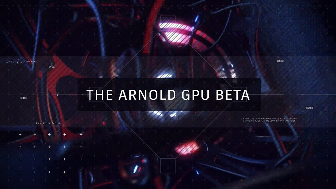 Maya Monday: The Arnold GPU Public Beta with Arvid Schneider