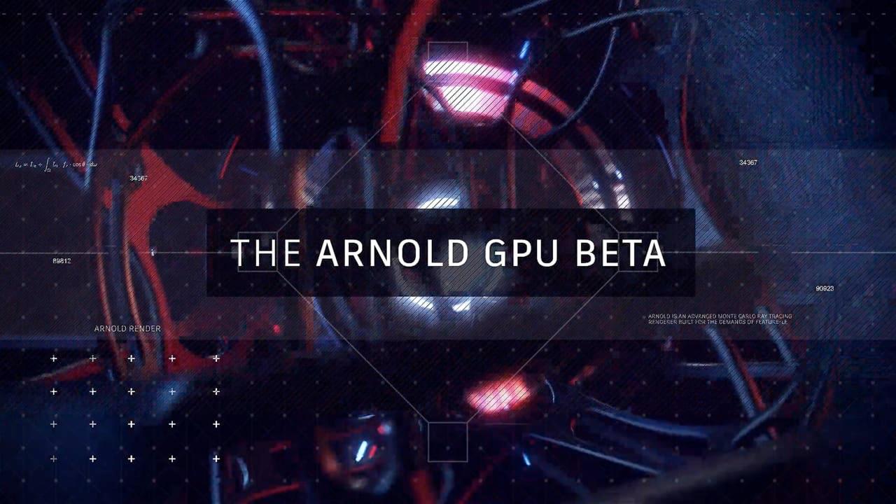 arnold gpu beta