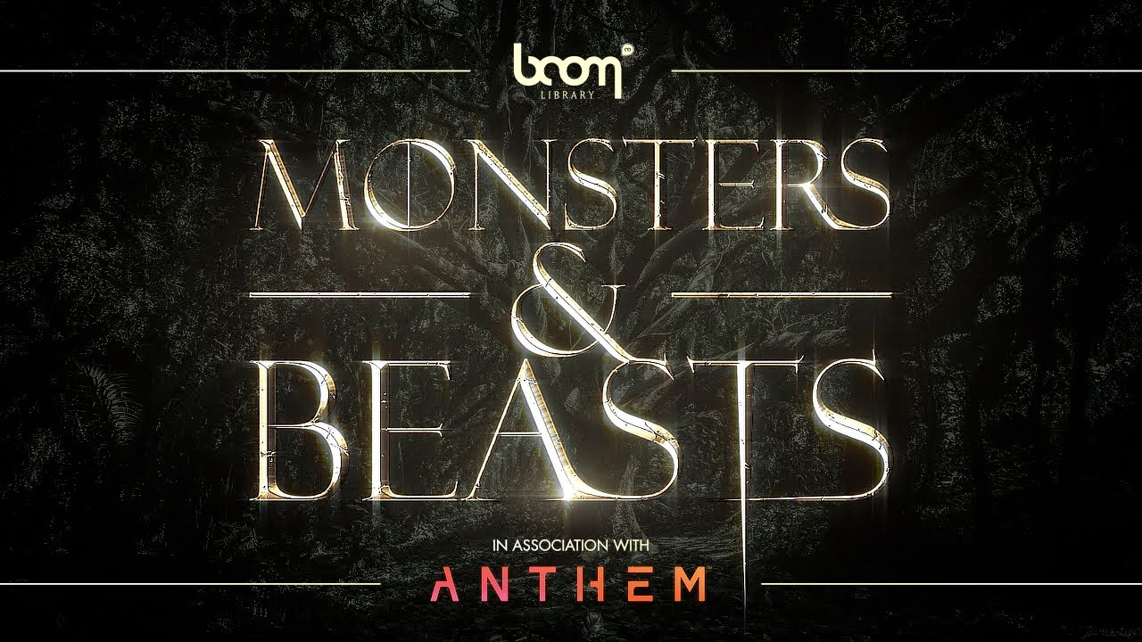 Boom library monsters & beasts