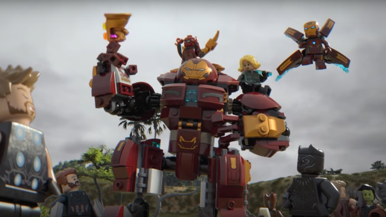 the gauntlet lego mini movie