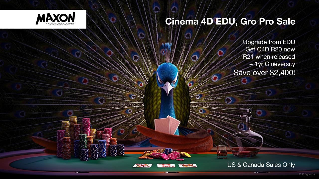 maxon cinema 4D edu, go pro sale