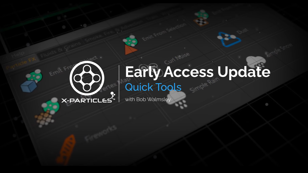 x-particles early access