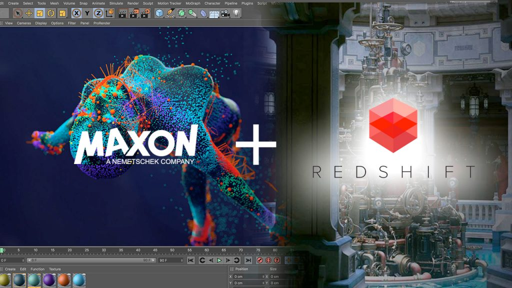 Maxon acquires Redshift NAB 2019