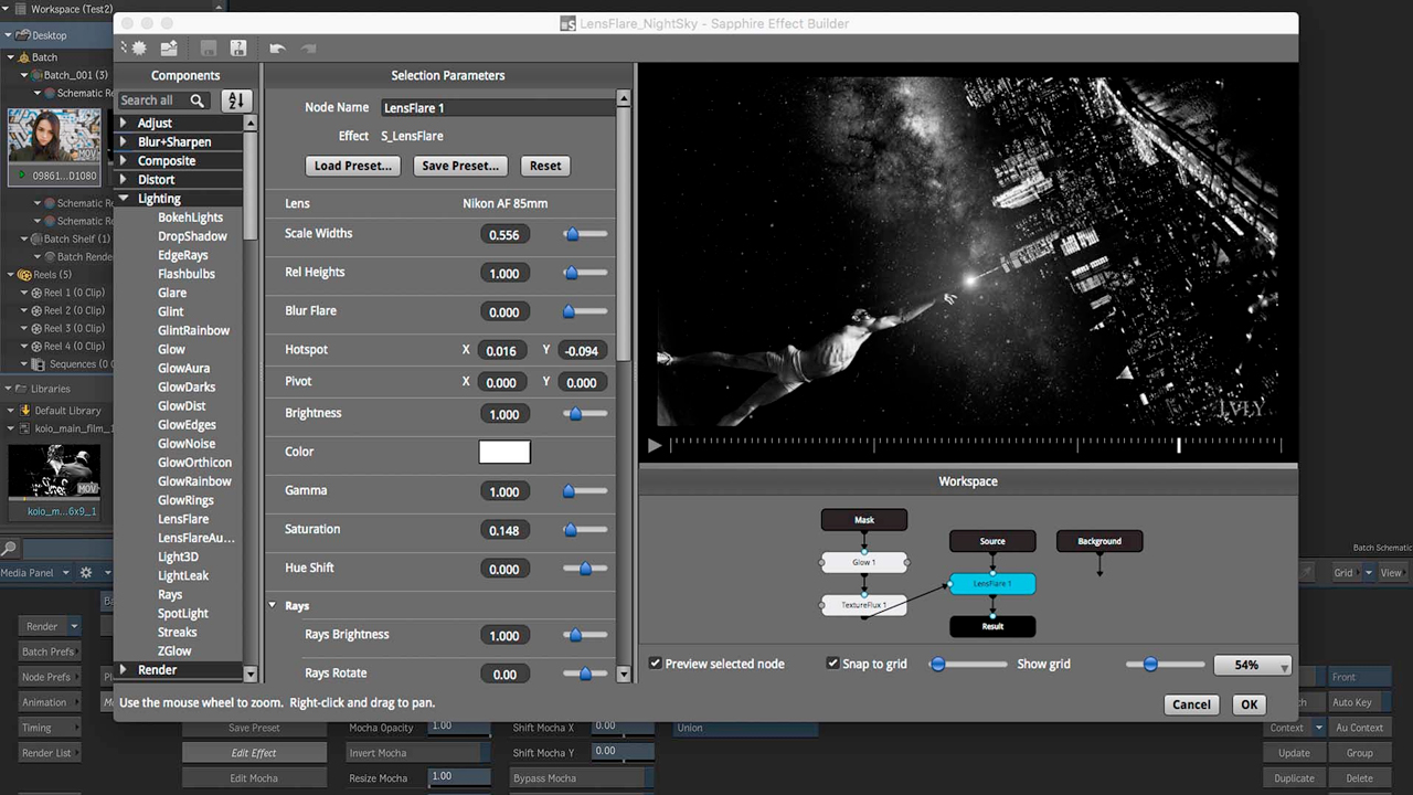 News: Boris FX's Sapphire VFX Plug-ins Add OFX Support for