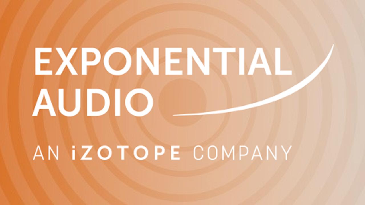 New/Sale: iZotope Acquires Exponential Audio - 30% Off
