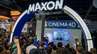 Andrew Kramer at the Maxon Booth, NAB 2019