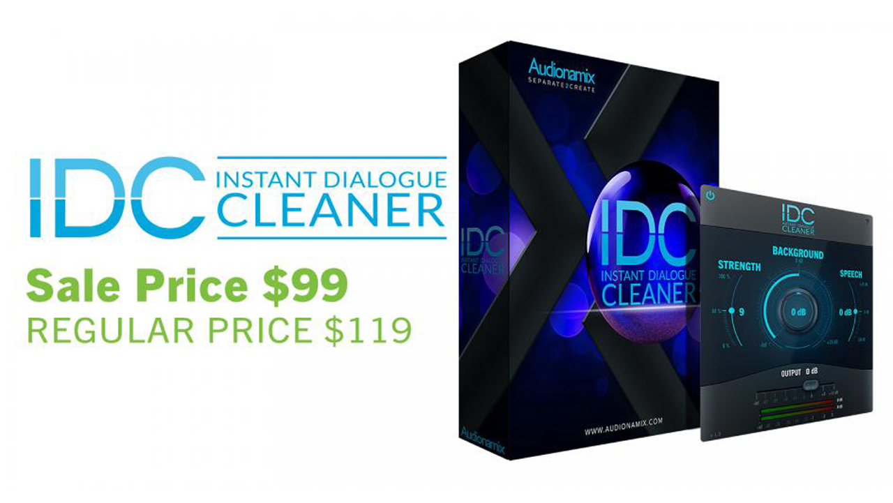 audionamix spring sale idc $99