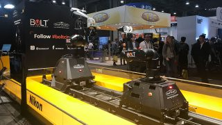 Robotic arm at NAB 2019