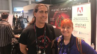 Jim Tierney of Digital Anarchy and Michele Terpstra of Toolfarm