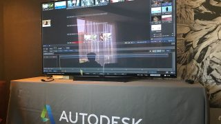The Autodesk Suite showing Flame 2020 at NAB 2019.