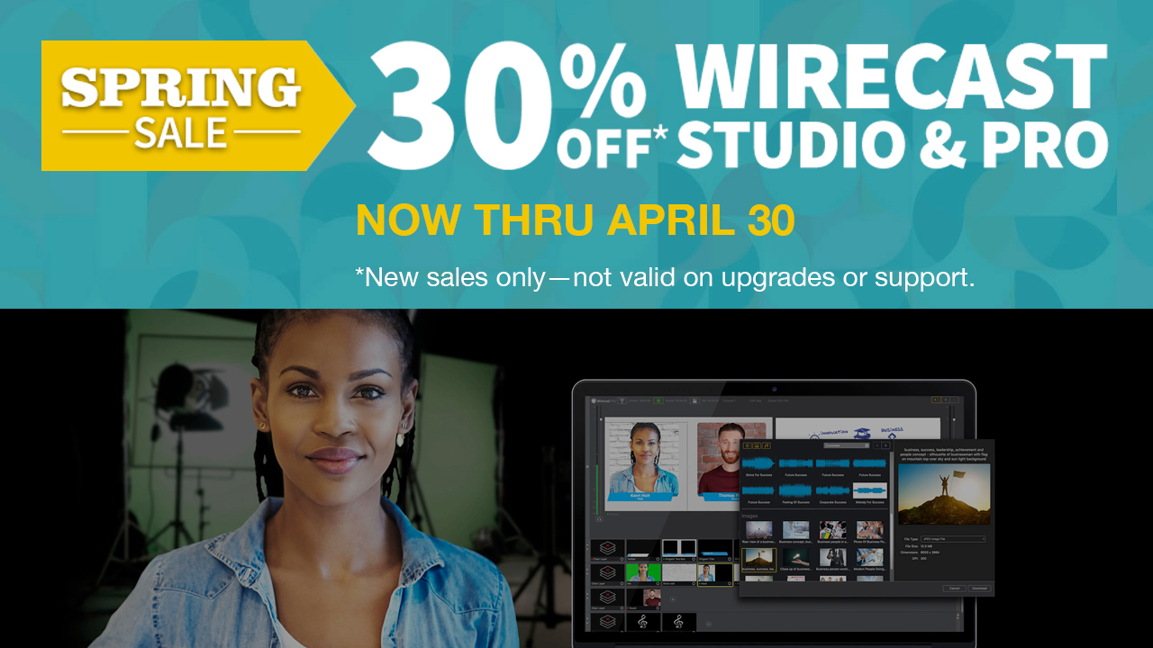 telestream wirecast 12 spring sale