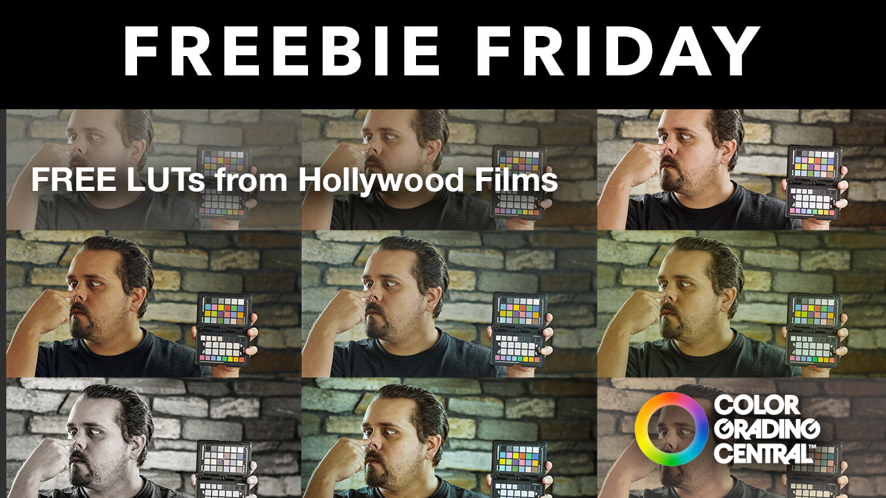 Freebie: LUTs: Free Cinematic LUTs from Color Grading Central - Toolfarm