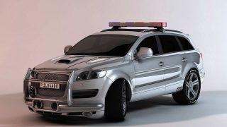 Audi 3D Car Renderking