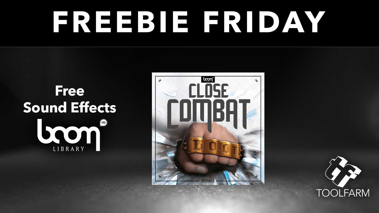 Freebie Friday Boom Library Sound Effects