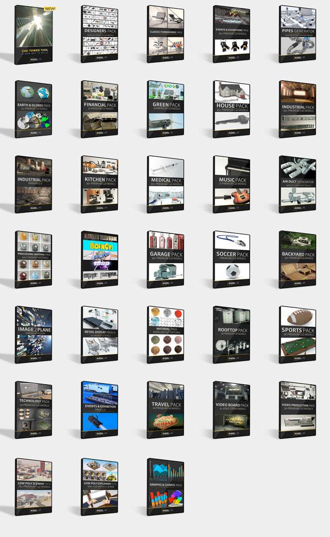 pixel lab mega pack products