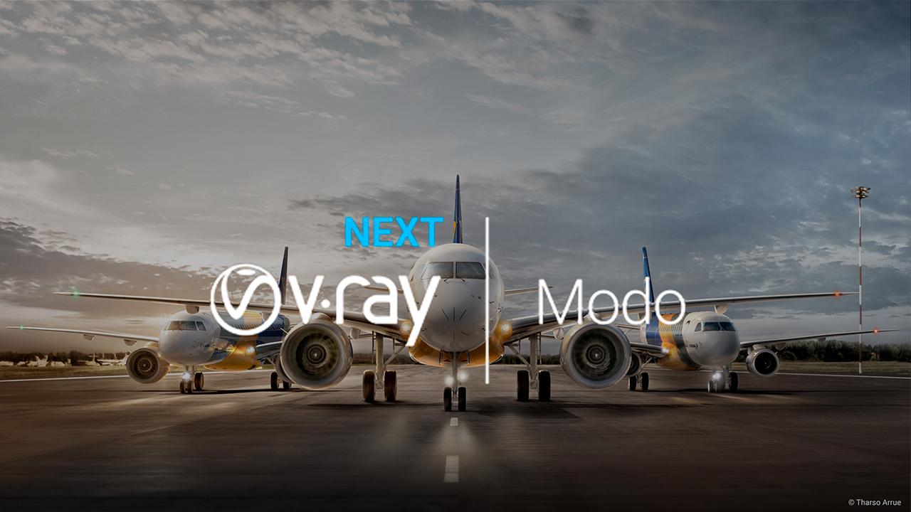 v-ray next for modo