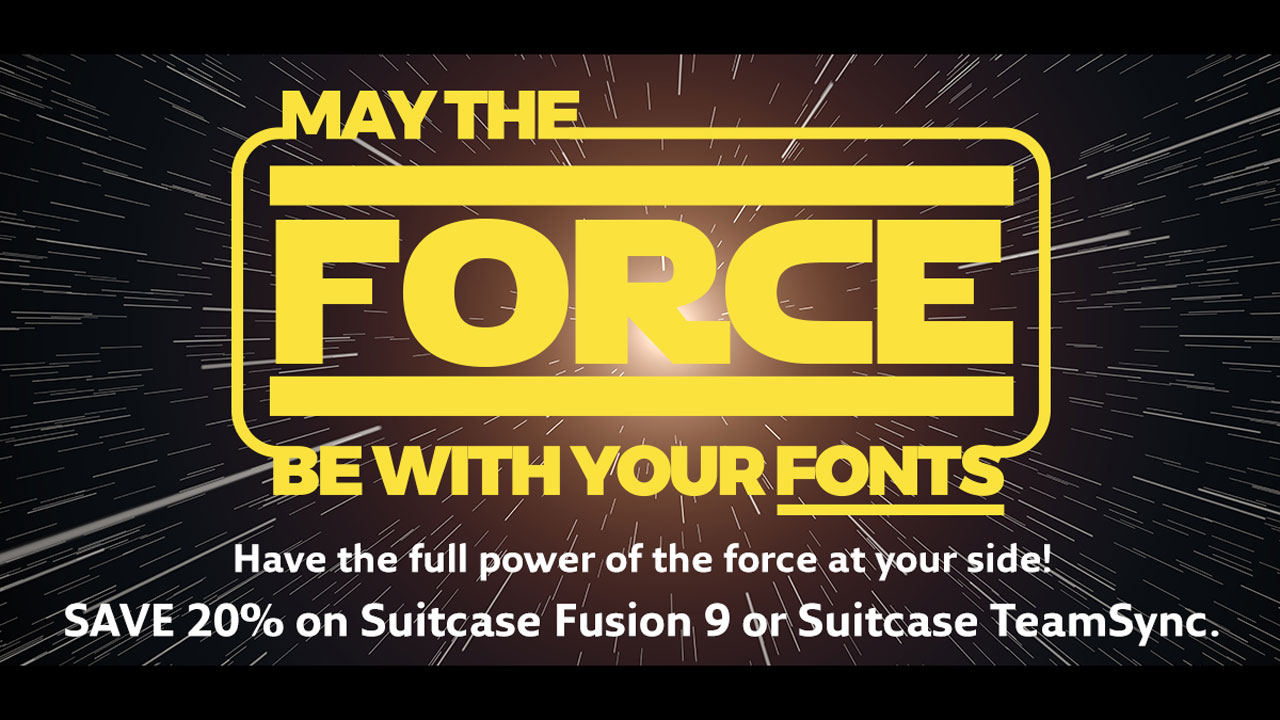 extensis suitcase fusion force sale