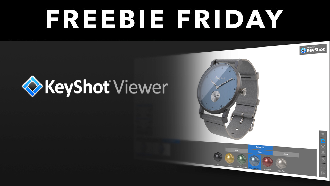 keyshot viewer freebie